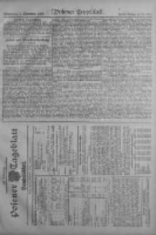 Posener Tageblatt. Handelsblatt 1909.09.08 Jg.48