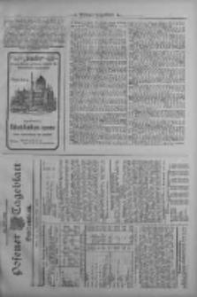 Posener Tageblatt. Handelsblatt 1909.09.11 Jg.48