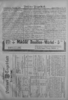 Posener Tageblatt. Handelsblatt 1909.09.15 Jg.48