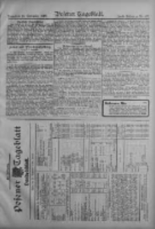 Posener Tageblatt. Handelsblatt 1909.09.17 Jg.48