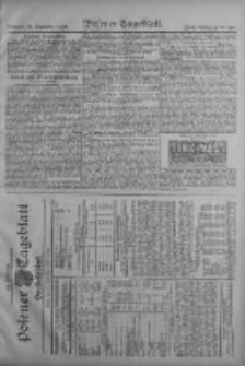 Posener Tageblatt. Handelsblatt 1909.09.21 Jg.48