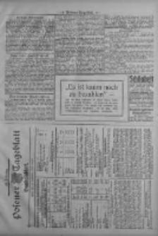 Posener Tageblatt. Handelsblatt 1909.09.22 Jg.48