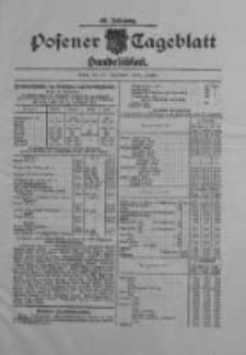 Posener Tageblatt. Handelsblatt 1909.09.24 Jg.48
