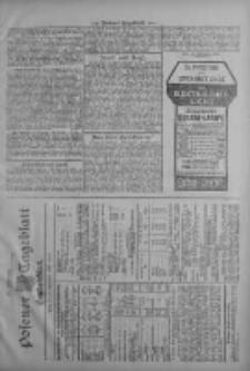 Posener Tageblatt. Handelsblatt 1909.09.27 Jg.48