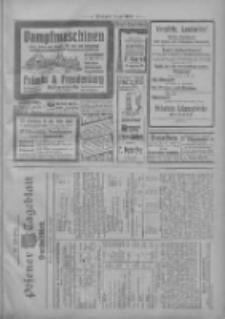 Posener Tageblatt. Handelsblatt 1909.10.04 Jg.48