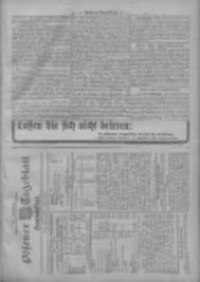 Posener Tageblatt. Handelsblatt 1909.10.06 Jg.48