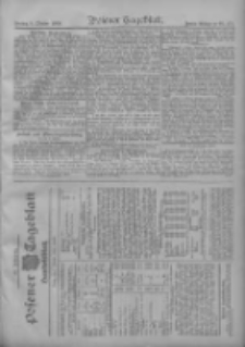 Posener Tageblatt. Handelsblatt 1909.10.07 Jg.48