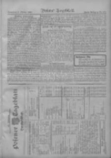 Posener Tageblatt. Handelsblatt 1909.10.08 Jg.48