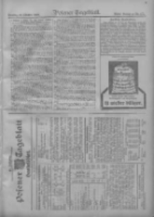 Posener Tageblatt. Handelsblatt 1909.10.09 Jg.48