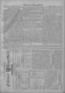 Posener Tageblatt. Handelsblatt 1909.10.13 Jg.48