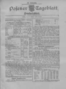 Posener Tageblatt. Handelsblatt 1909.10.16 Jg.48
