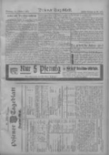 Posener Tageblatt. Handelsblatt 1909.10.18 Jg.48