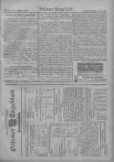 Posener Tageblatt. Handelsblatt 1909.10.19 Jg.48