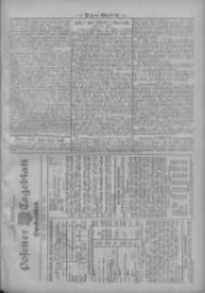 Posener Tageblatt. Handelsblatt 1909.10.23 Jg.48