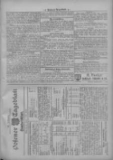 Posener Tageblatt. Handelsblatt 1909.10.25 Jg.48