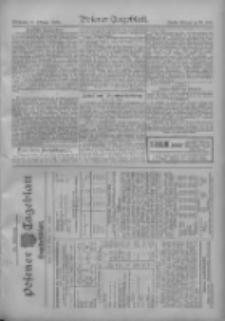 Posener Tageblatt. Handelsblatt 1909.10.26 Jg.48