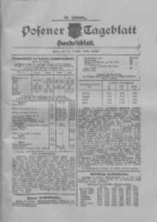 Posener Tageblatt. Handelsblatt 1909.10.27 Jg.48