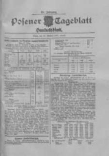 Posener Tageblatt. Handelsblatt 1909.10.28 Jg.48