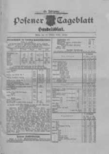 Posener Tageblatt. Handelsblatt 1909.10.29 Jg.48