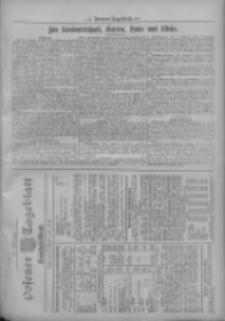 Posener Tageblatt. Handelsblatt 1909.10.30 Jg.48