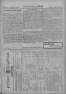 Posener Tageblatt. Handelsblatt 1909.11.05 Jg.48