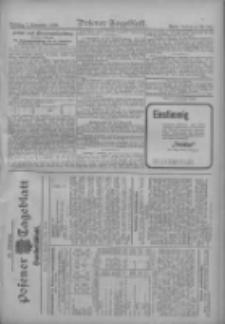 Posener Tageblatt. Handelsblatt 1909.11.06 Jg.48