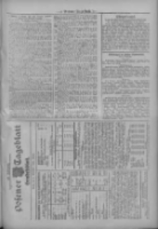 Posener Tageblatt. Handelsblatt 1909.11.09 Jg.48