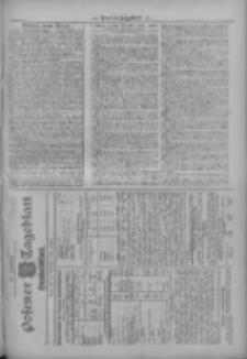 Posener Tageblatt. Handelsblatt 1909.11.10 Jg.48