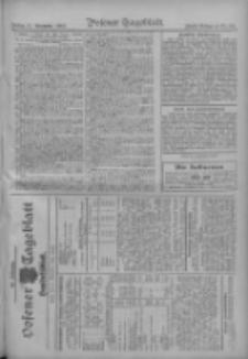 Posener Tageblatt. Handelsblatt 1909.11.11 Jg.48