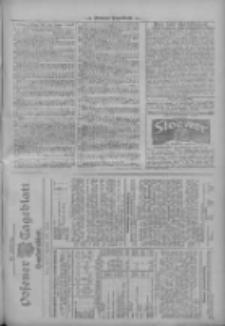 Posener Tageblatt. Handelsblatt 1909.11.13 Jg.48