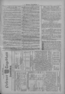 Posener Tageblatt. Handelsblatt 1909.11.18 Jg.48