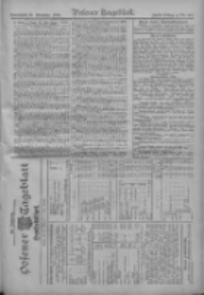Posener Tageblatt. Handelsblatt 1909.11.19 Jg.48