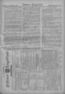 Posener Tageblatt. Handelsblatt 1909.11.27 Jg.48