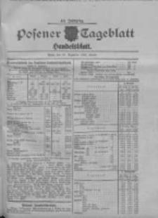 Posener Tageblatt. Handelsblatt 1909.12.10 Jg.48