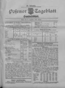 Posener Tageblatt. Handelsblatt 1909.12.14 Jg.48