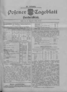 Posener Tageblatt. Handelsblatt 1909.12.20 Jg.48