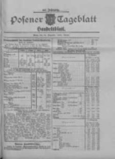 Posener Tageblatt. Handelsblatt 1909.12.24 Jg.48
