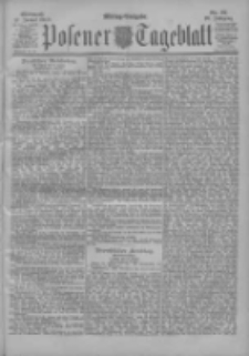 Posener Tageblatt 1900.01.17 Jg.39 Nr27