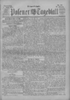 Posener Tageblatt 1900.01.18 Jg.39 Nr28
