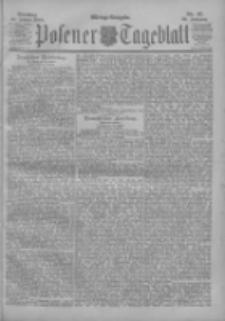 Posener Tageblatt 1900.01.23 Jg.39 Nr37
