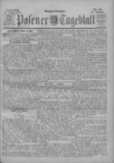 Posener Tageblatt 1900.01.25 Jg.39 Nr40