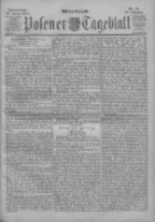 Posener Tageblatt 1900.01.25 Jg.39 Nr41