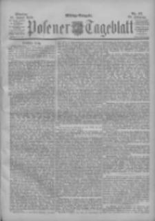 Posener Tageblatt 1900.01.29 Jg.39 Nr47