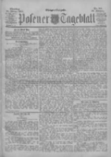 Posener Tageblatt 1900.02.20 Jg.39 Nr84
