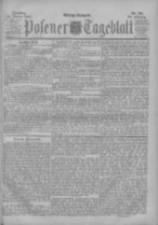 Posener Tageblatt 1900.02.20 Jg.39 Nr85