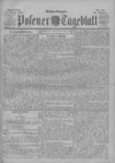 Posener Tageblatt 1900.02.22 Jg.39 Nr88