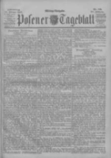 Posener Tageblatt 1900.02.22 Jg.39 Nr89