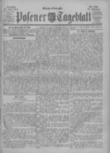 Posener Tageblatt 1900.04.22 Jg.39 Nr186