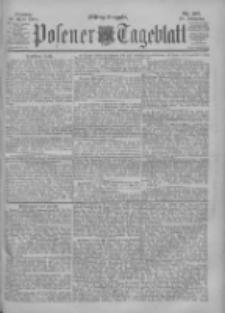 Posener Tageblatt 1900.04.23 Jg.39 Nr187