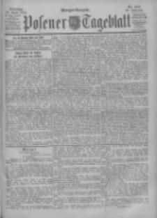 Posener Tageblatt 1900.04.24 Jg.39 Nr188